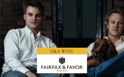 A Q&A With Fairfax & Favor